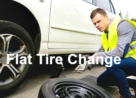 Flat tire assistance in peachtree corners ga